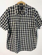 Men's Lucky Brand Black Label Diablo Short-Sleeve Western Shirt Size L