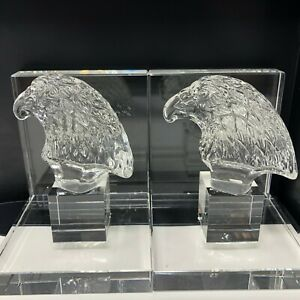 Saro Lifestyle Eagle Crystal Bookends