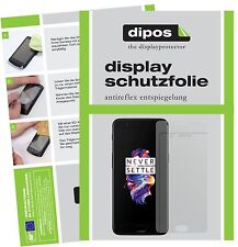 2x OnePlus 5 Film de protection d'écran protecteur antireflet dipos