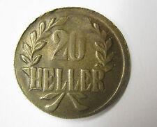 20 Heller 1916 T Deutsch Ostafrika Notmünze Tabora D.O.A