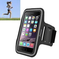 Brassards noirs iPhone 6 Plus pour téléphone mobile et assistant personnel (PDA)