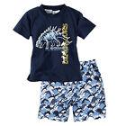 Enfant Garçons Filles t-shirt + short Vêtements de nuit Pyjama Ensemble 2 pièces