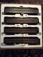 4 O Scale K-LINE HEAVYWEIGHT PENNSYLVANIA PASSENGER CAR For Model Train