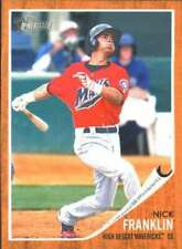 2011 Topps Heritage Minor League #115 Nick Franklin (Prospect / Rookie Card) NM-