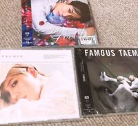 TAEMIN Japan Solo CD Album Set of 3 FAMOUS TAEMIN Flame of love SHINee K-POP F/S