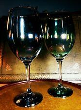 Big Two Vintage Lustre  Wine Drinking Glasses