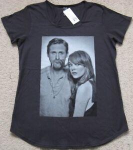 New Ladies Ryan Gosling Emma Stone Movember Pose Cotton T Shirt