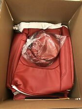 2016-19 Chevy Chevrolet Camaro Red Katzkin Leather Seat Replacement Covers