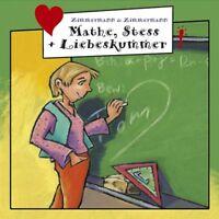 """FRECHE MÄDCHEN """"MATHE STRESS & LIEBESKUMMER"""" CD NEU!!!!"""