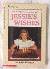 Vintage Jessie's Wishes Sally Wittman Paperback Kids Childrens Book New Baby