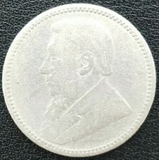 1896 South Africa Paul Kruger silver 925, - High Grade,