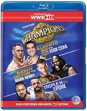 WWE Night Of Champions 2011 BLU-RAY REGION CODE B
