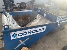 More details for conquip tipping forklift skip