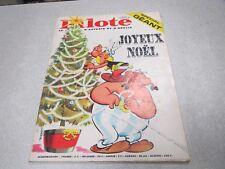 PILOTE LE JOURNAL D ASTERIX ET D OBELIX N° 321 16 decembre 1965 + PILOTORAMA *