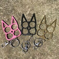 Personal Classic Cat Key Chain Self Defense Keyring Emergency Metal Tool Gift
