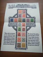 Germany 1921 1922 1923 Stamps on album page Deutsches Reich Deutschland German A