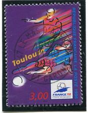TIMBRE FRANCE OBLITERE N° 3011 FRANCE 98 FOOTBALL / Photo non contractuelle