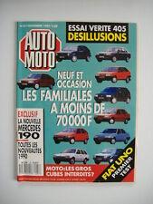 AUTO MOTO 87 R 21 TXi QUADRA-405 SR X4-BX GTi 4X4-LANCIA DEDRA 1.8-405 GL/GR/SR
