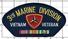 Vietnam Veteran Patch Marines 3rd Third Marine Division