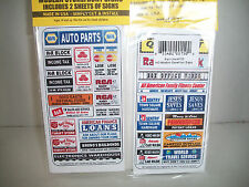 Blair Line HO Scale SignsSafety and Misc Signs   #152  Bob The Train Guy