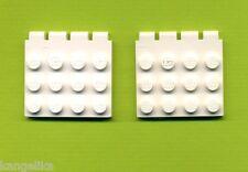 Lego--4213--Scharniere --Weiß--4 x 4 --2 Stück--Scharnier