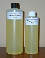 POLYSORBATE 20  TWEEN 20  SURFACTANT EMULSIFIER  SAMPLE - GALLON