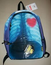 """New w/tags: """"ICU Light"""" small backpack w/""""x-ray"""" ribs/lungs, heart lights up!"""