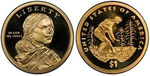 2009 S Sacagawea/Native American Dollar Deep Cameo Gem Proof
