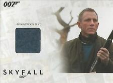 """James Bond Autographs & Relics - SSC34 """"Bond's Shirt"""" Relic Card #042/200"""