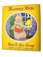 Read to Your Bunny~Very First Library Set by Rosemary Wells 4 Charming Books Nip
