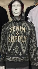 Denim And Supply Ralph Lauren Mens Pullover Hoodie Size M