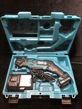 Makita 12V max cXT Lithium-Ion Recipro Saw Set RJ03R1 Used