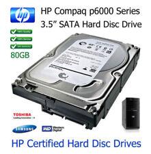 "Hard disk interni HP Dimensioni 3,5"" Capacità 80GB"