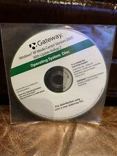 Gateway Operating System Disc 2006
