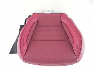 2018 LEXUS RC350 SEAT FRONT LOWER CUSHION RED LEFT DRIVER SIDE OEM 618 #A65 A