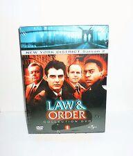 COFFRET 6  DVD VIDEO NEW YORK DISTRICT SAISON 2 LAW & ORDER