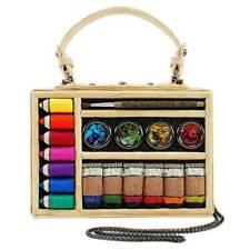 Mary Frances Art & Soul Handbag Beaded Art Supplies Paint Artist Colors Bag New