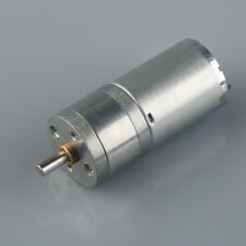 1 pc 12V 500RPM Output Speed 4mm Shaft Dia DC Gearbox Geared Motor