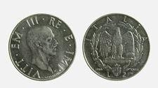 s647_106) Regno Vittorio Emanuele III  (1901-1943) 2 Lire 1939 XVIII anti