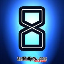 Guy Martin Isle Of Man Tt Estilo Carrera números Calcomanías Stickers Pista gráficos X4