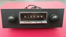 Vintage Style AM FM iPod Car Radio Classic Bluetooth USB PORSCHE 911 912 1965-73