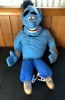 "Vintage Disney Genie Hand Puppet Plush Aladdin Stuffed Animal Toy 23"""