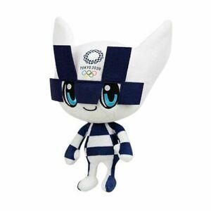 Tokyo Olympics Games 2020 2021 Mascot Miraitowa Stuffed Doll Anime Plush Toys