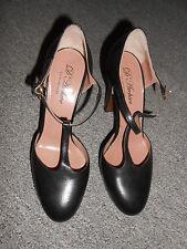 20 260/10 D` Archive Court shoes High Heels Size 39 black 11 cm Leather Luxury