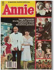 Vintage 1980s Annie Comic Book re Movie Little Orphan Annie Marvel Super Special