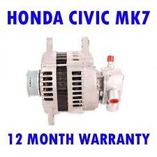 HONDA CIVIC MK7 MK VII HATCHBACK 1.7 CDTI 2002 2003 2004 2005 RMFD ALTERNATOR