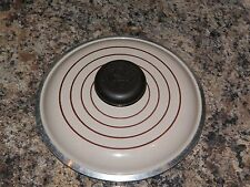 """Almond Club Ware Aluminum Small Sauce Pan LID ONLY 6 3/4"""" - inner rim 6"""""""