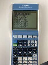 Blue TI-Nspire Calculator TI- 84 Plus Keyboard Handheld Math & Science Graphing