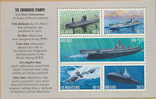 3377a2 USA Submarine Selvedge 2 The Submarine Stamps $49.50 Brookman Val MINT NH