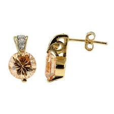 Modeschmuck-Ohrschmuck aus Sterlingsilber mit Cubic Zirkonia und Butterfly-Verschluss